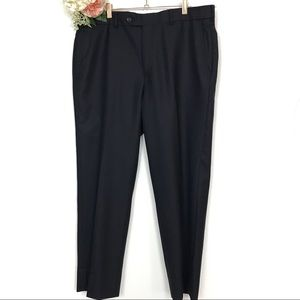 Brooks Brothers 1818 Black Trousers Size 44 x 38